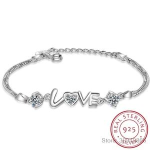 New 925 sterling silver love Bracelet